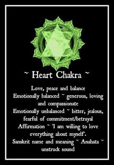 clearing the heart chakra your soul speaks to me